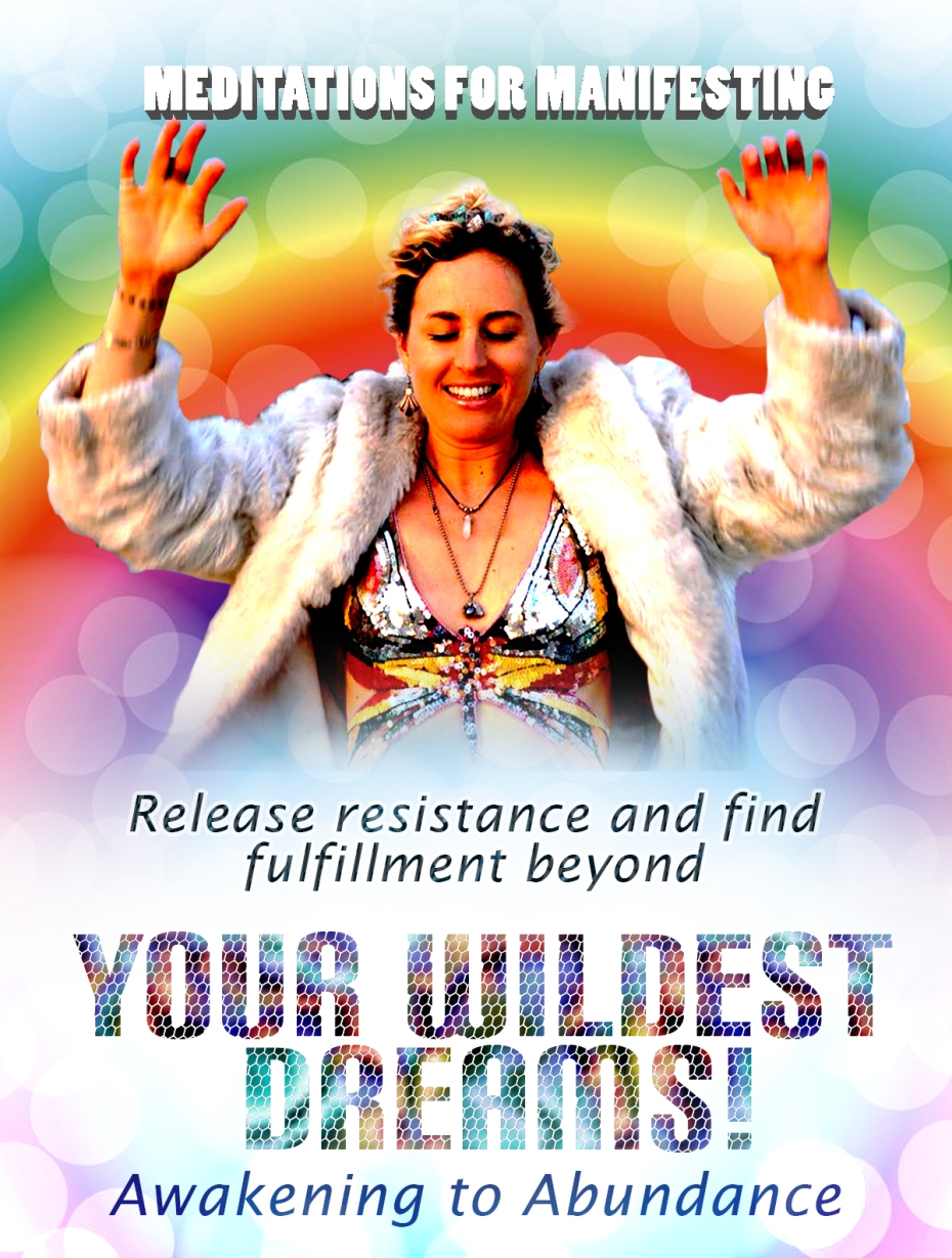 meditations for manifesting flyer